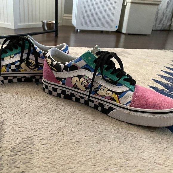 Vans Shoes   Disney 8s Mickey Old Skool